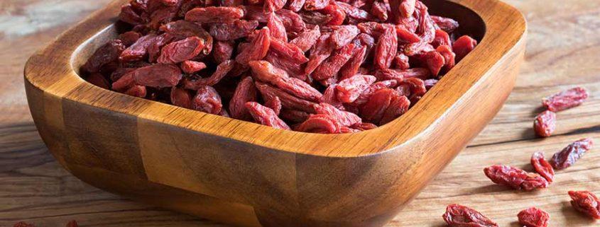 Goji bogyó természetes étrendkiegészítő